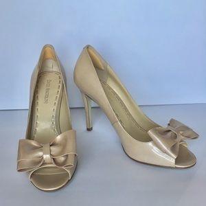 Cream Pump heels size 8 1/2